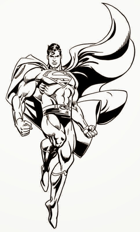 Craftoholic: Superman 'Man of Steel' Coloring Pages