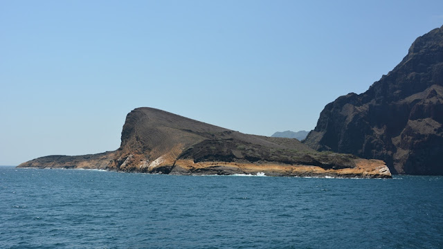 Punta Vicente Roca view