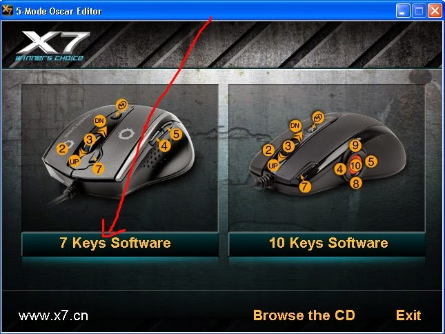 And install driver mouse macro x7 a4tech f6 download.