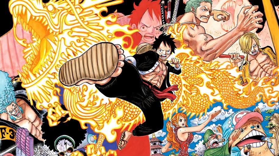 One Piece, Straw Hat Pirates, 4K, #6.159