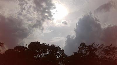 +Gambar foto mega sore hari yang indah