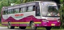 daftar rute dan tarif bus medan jaya