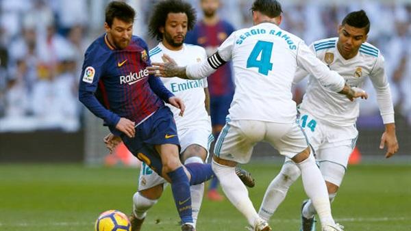 مباراة ريال مدريد وبرشلونة الكلاسيكو2-3-2019 الدوري الاسباني