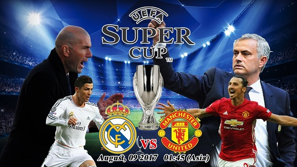 UEFA Super Cup 2017 Real Madrid vs Manchester United