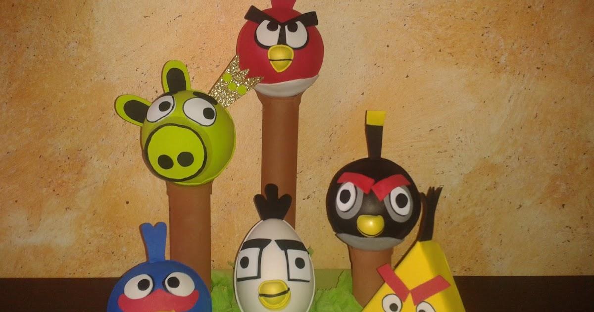 FOFUCHAS Y COSILLAS PILI FOFUCHOS ANGRY BIRDS