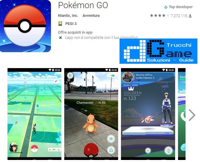Trucchi Pokémon GO Mod Apk Android v0.47.1
