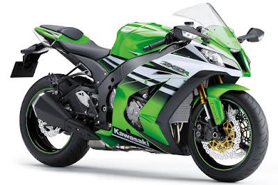 2016 Kawasaki Ninja ZX-10R sportbike