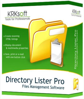 Directory Lister Pro 1.70 Enterprise Edition (x32-x64) + Crack