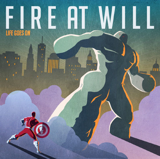 Fire At Will stream new album 'Life Goes On'