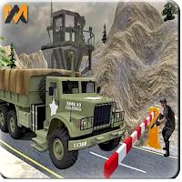 لعبة سائق شاحنة الجيش  Drive Army CheckPost Truck