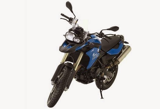 BMW F 800 GS Blue