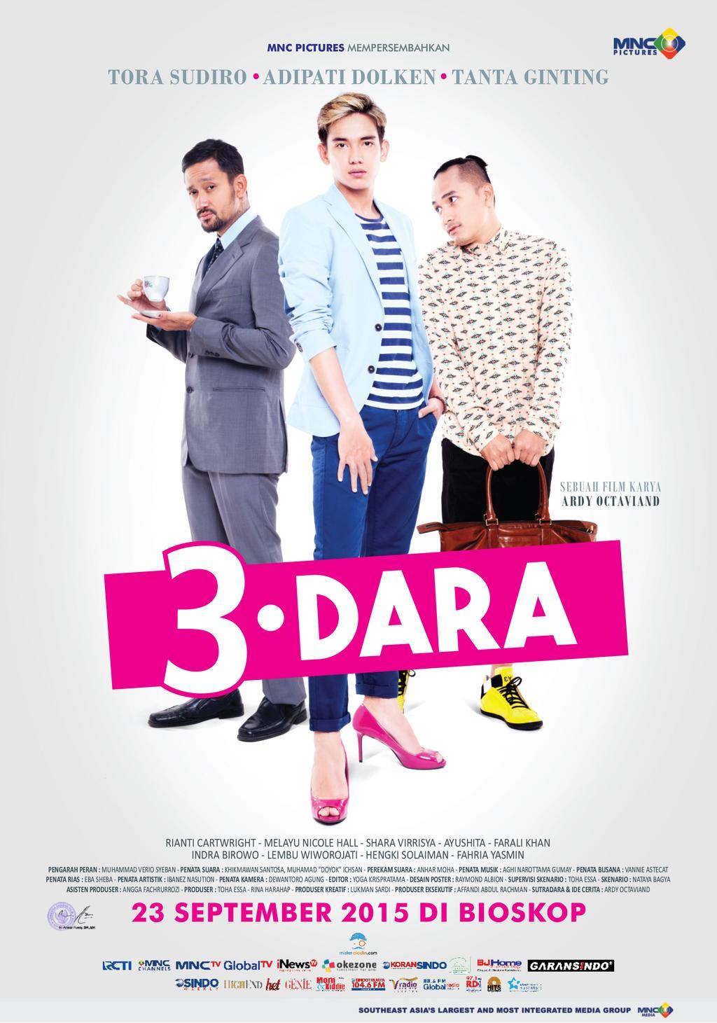 Review Film 3 Dara 2015 Kurang Greget Melambainya Riza Pahlevi