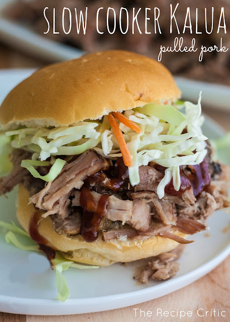 Best Slow Cooker Kalua Pulled Pork Recipe #slowcooker #pork #pulledpork #sidedish #dish #easyrecipe #burgers