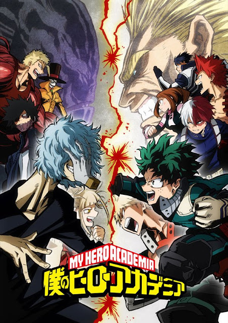 "tercera temporada de ""Boku no Hero Academia"""