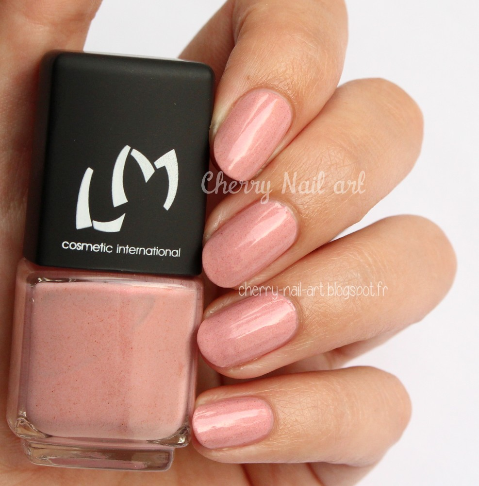 vernis lm cosmetic n°266 Cinderella collection nudes poudrés