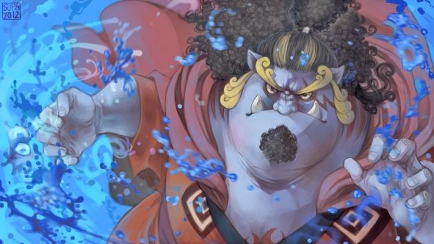 Karakter Anime Pengguna Kekuatan Elemen Air Terkuat Jinbei ( One Piece )