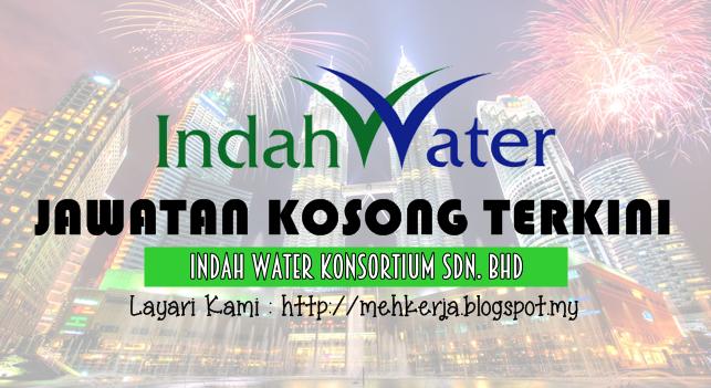Jawatan Kosong Terkini 2016 di Indah Water Konsortium Sdn Bhd