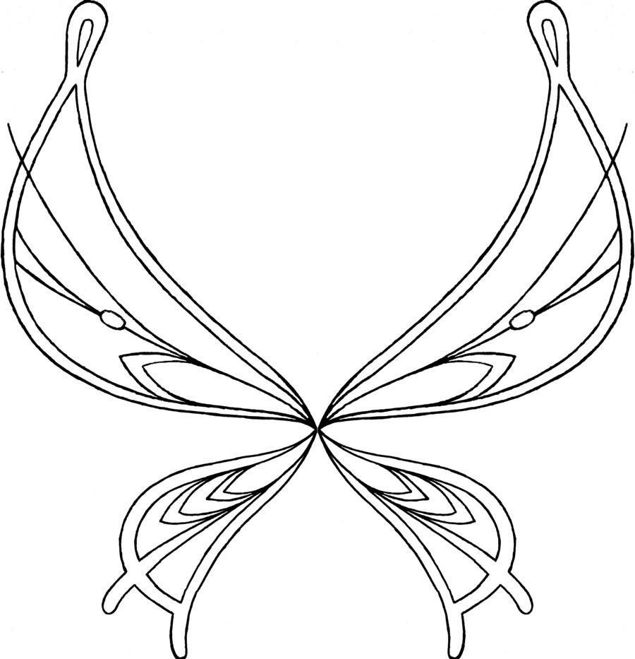 Winx club sirenix colorear alas sophix de layla flora for Coloring pages wings