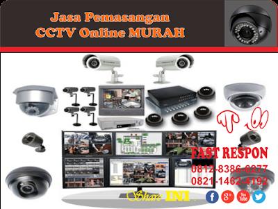 Jasa Pemasangan CCTV Online Murah Jabotabek