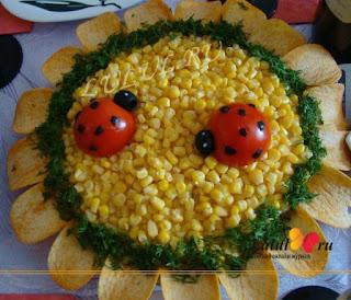 Божья коровка закуска мз помидор рецепт с фото