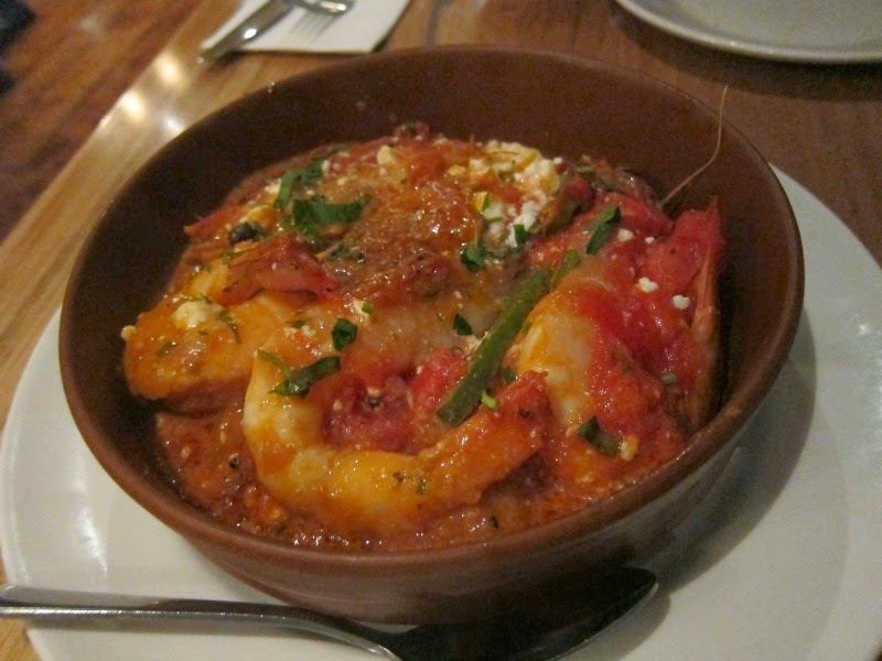 Mesa Greek Cuisine saganaki prawn scallop abbotsford