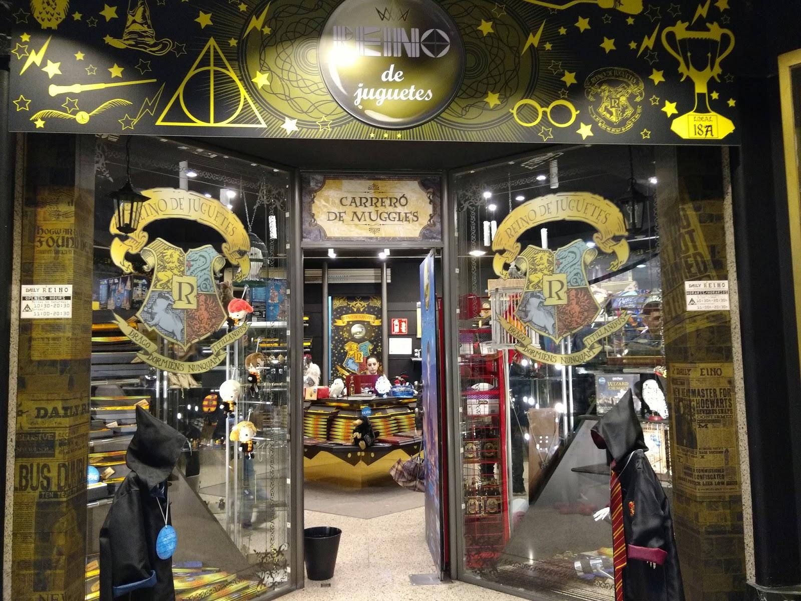 VIAJAR CODE: Verónica: Tienda Harry Potter en Barcelona