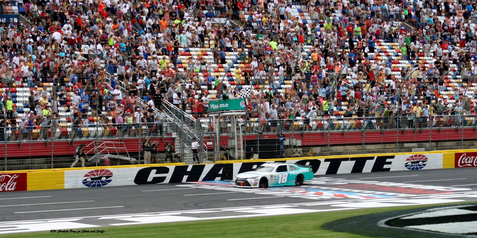 Fast facts redux charlotte motor speedway skirts and scuffs for Charlotte motor speedway pictures