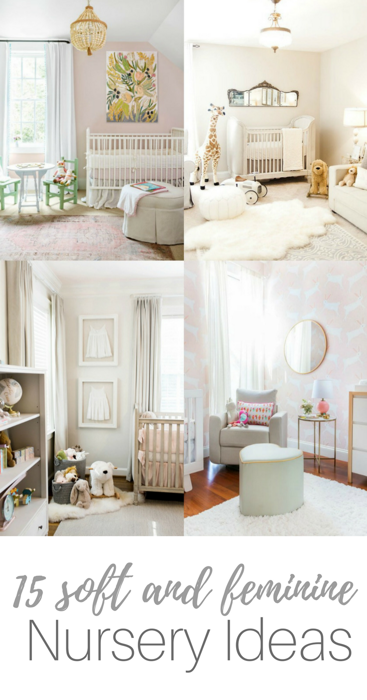 soft baby girl nursery