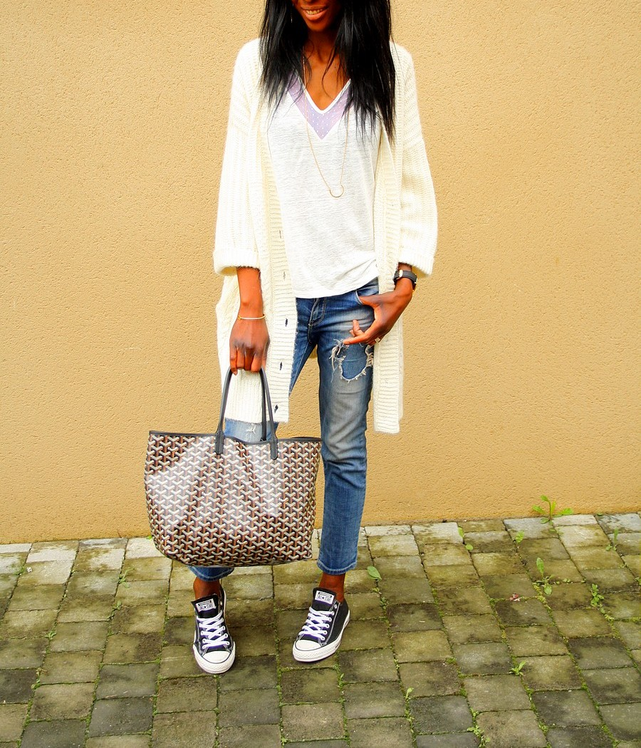 ootd-ripped-jeans-zara-sac-goyard-cardigan-etam-blog-mode