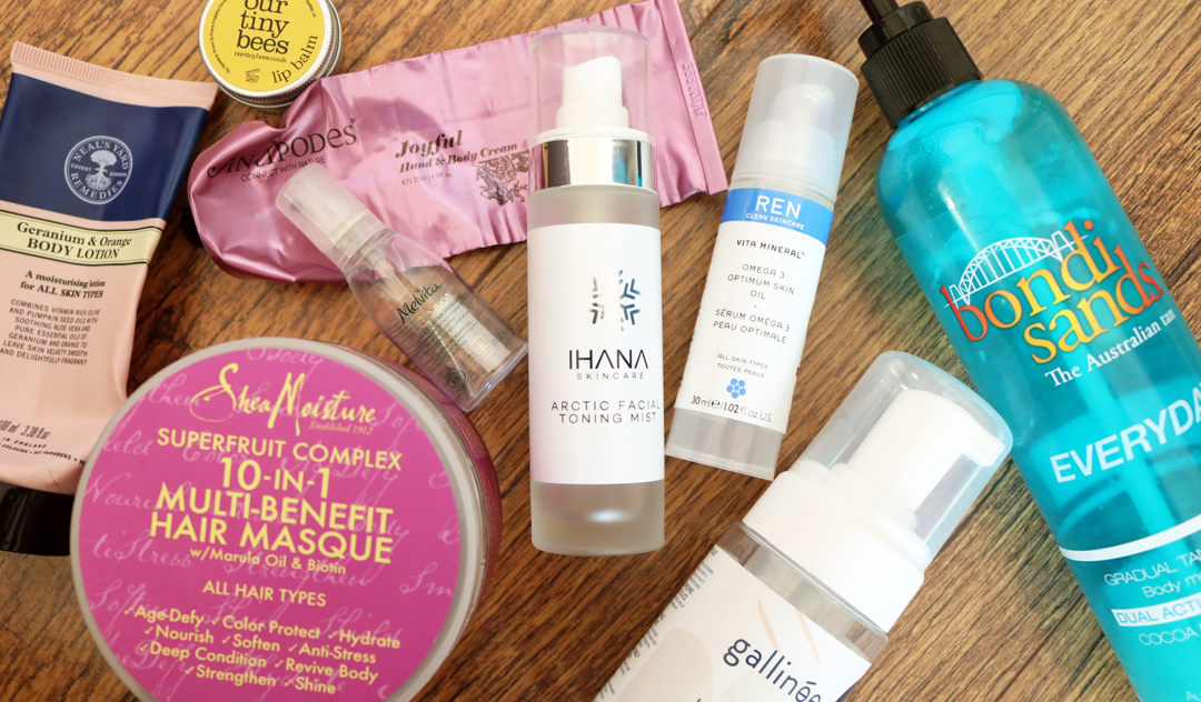 October Empties: Products I've Used Up