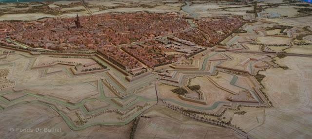 Plan-relief de Strasbourg (1836-1863) [cliché Balliet J.M.)