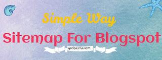 Sitemap Untuk Blogger