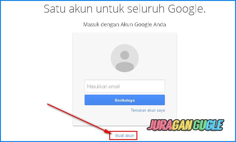 membuat akun google