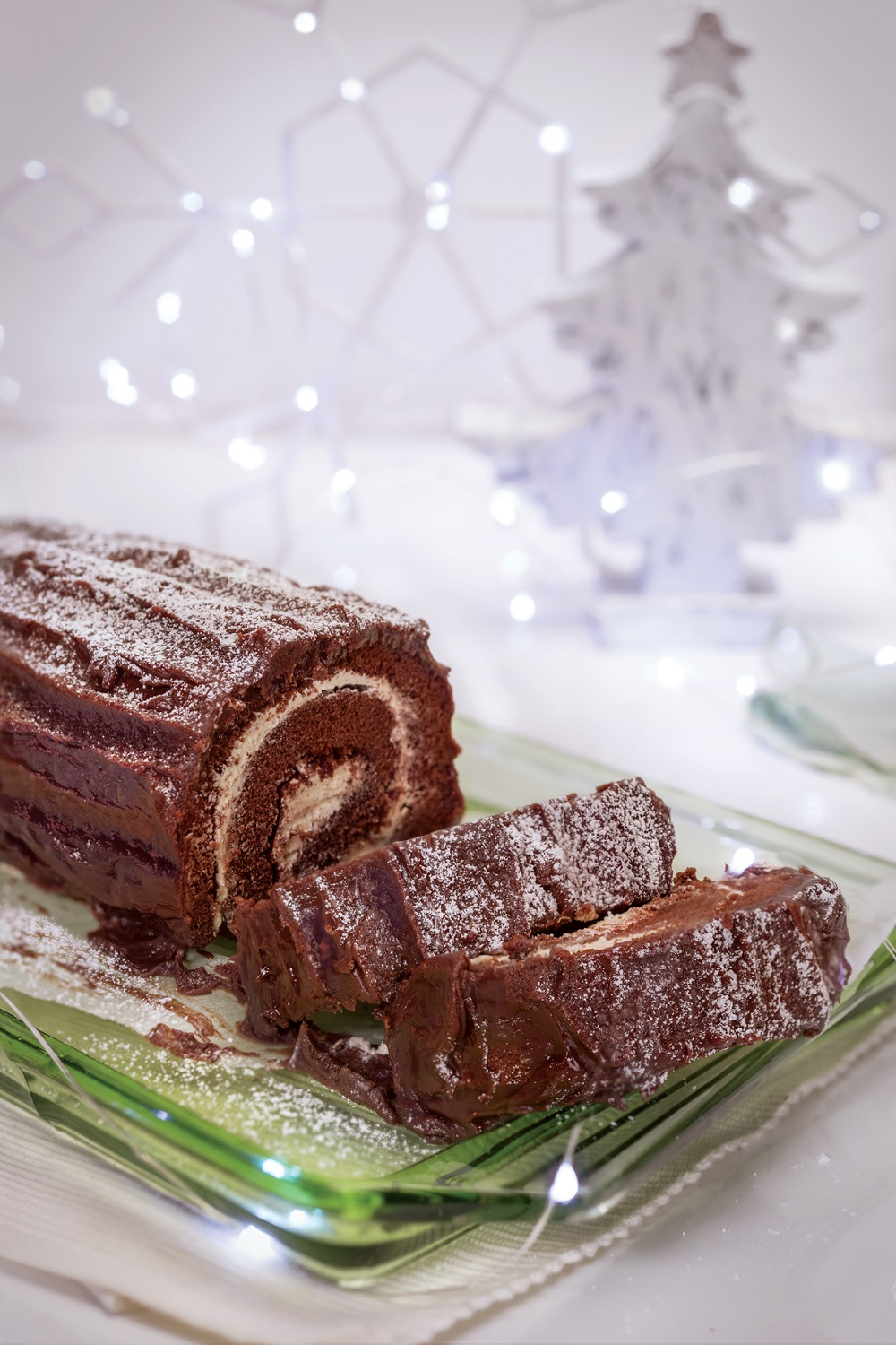 Gluten Free Chocolate Yule Log