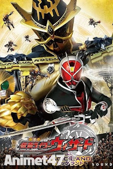 Kamen Rider Wizard in Magic Land -  2013 Poster