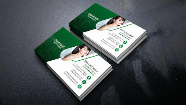 business-card Outstanding Business Card Design - Photoshop Tutorial download