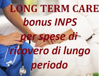bonus inps long term care: requisiti e domanda