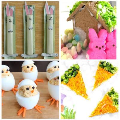 bunny snacks for kids