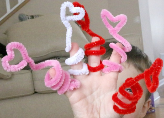 valentine fingerplays
