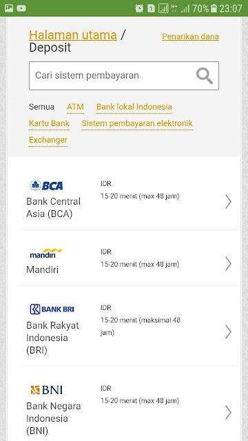jenis bank lokal deposit fbs