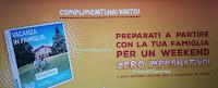 Logo Vinci anche tu uno dei 100 Weekend Zero impegnativo per 4 persone !