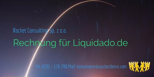 Rocket Consulting Sp. z o. o. – Rechnung für Liquidado.de