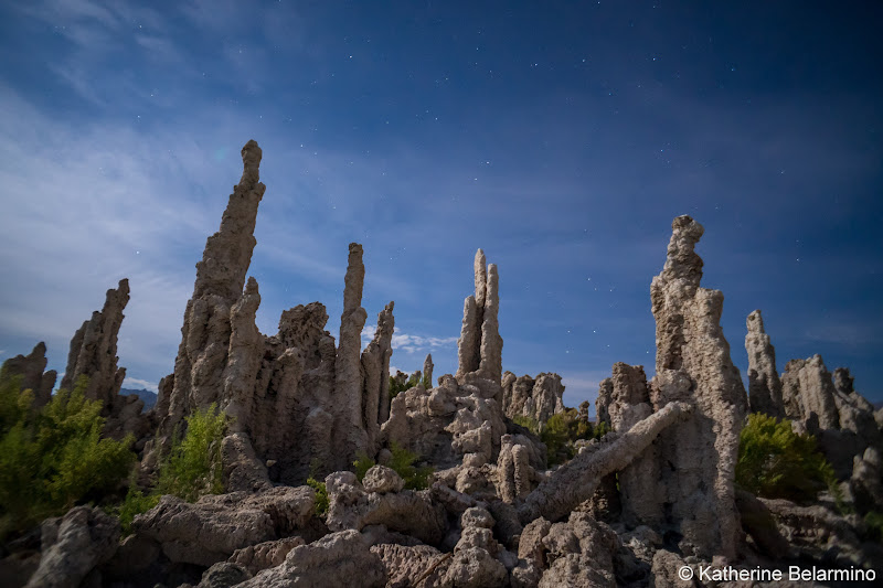 Mono Lake Tufa Towers at Night Self-Guided Photography Tour of Mammoth Lakes