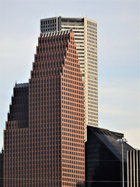 Bank of America Center, Pennzoil Place, and Chase Tower