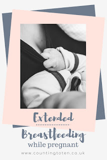Breastfeeding an older child while pregnant