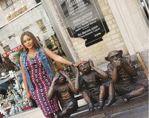 Is she pregnant? Actress Daniella Okeke's belly has got fans wondering