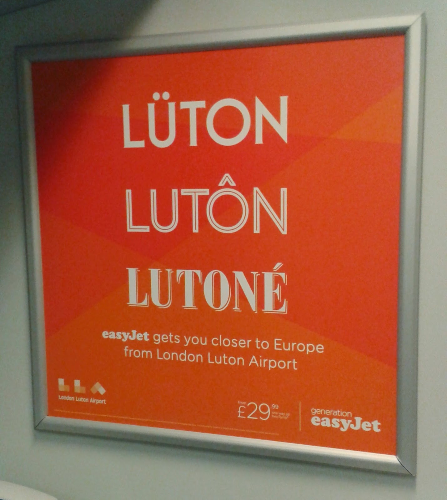 Luton - otherwise known as Lüton, Lutôn and Lutoné