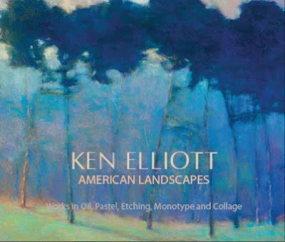 Ken Elliott book, American Landscapes  hardback, 94 pages with giclee print