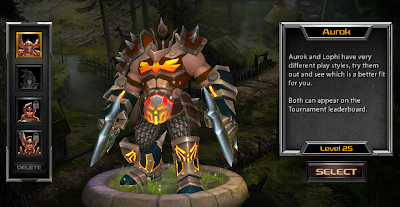 Aurok character