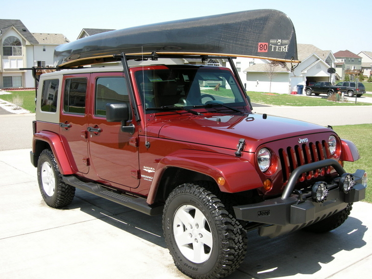 Jeep Wrangler Kayak Rack Soft Top